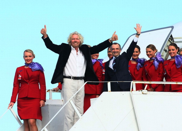 Фоторепортаж. Первый запуск самолета авиакомпании Virgin Australia состоялся в Сиднее. Фото: Don Arnold/Getty Images