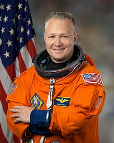 Фоторепортаж. Пилот и астронавт НАСА Дуг Херли. Фото взято из Wikipedia