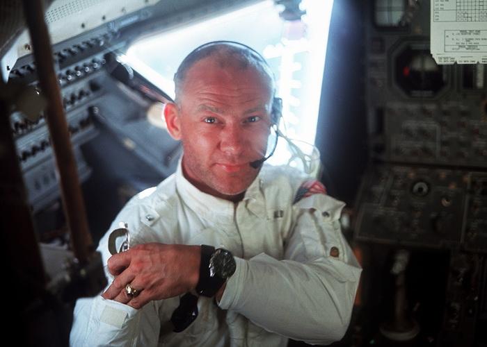 Базз Олдрин. Фото: НАСА