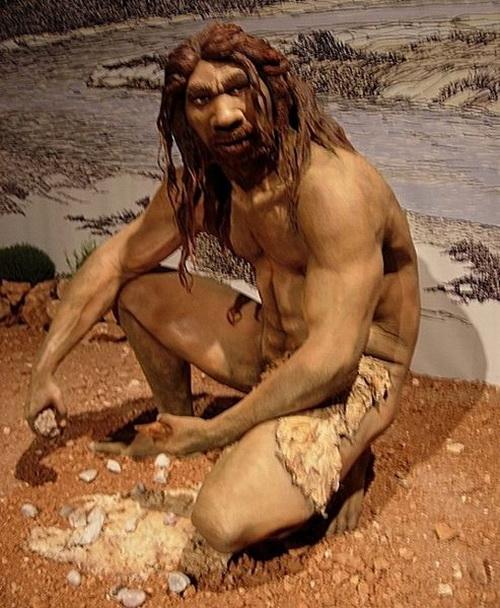 Реконструкция облика гейдельбергского человека. Фото: Jose Luis Martinez Alvarez/commons.wikimedia.org