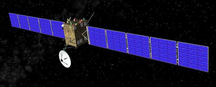 Космический аппарат «Розетта». Фото: IanShazell/commons.wikimedia.org