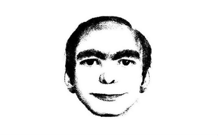 Рисунок человека, которого, по сообщениям, видели во сне тысячи людей. Фото: ThisMan.org