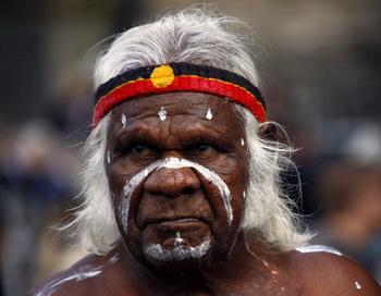Абориген. Фото: DAVID GRAY/AFP/Getty Images