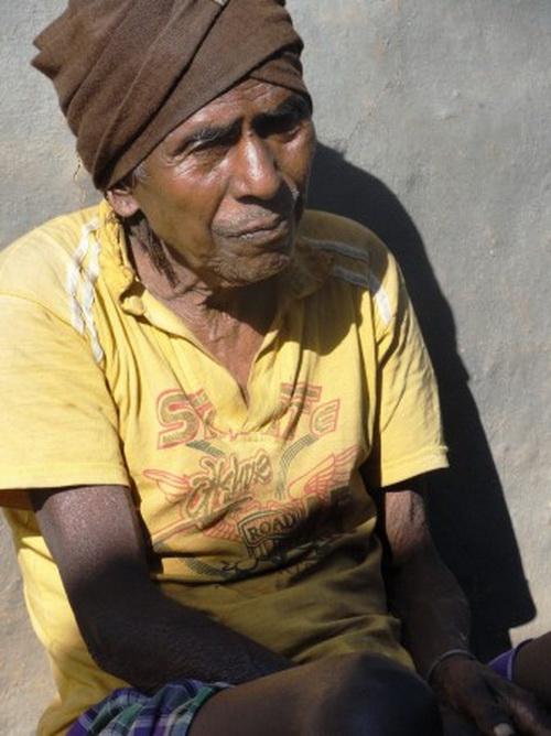 Современный асур в деревне Полполпат в индийском штате Джаркханд. Фото: Ganga Nath Jha