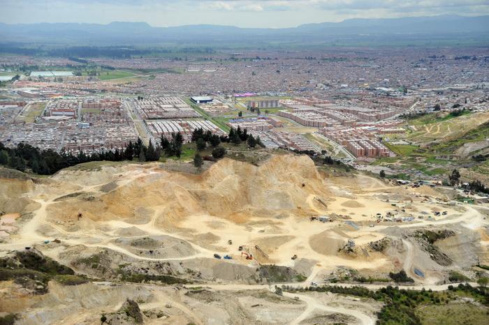 Город Соачи. Древнее поселение индейцев обнаружено возле Боготы. Фото: GUILLERMO LEGARIA/AFP/Getty Images