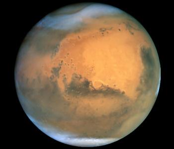 Следы древнего озера обнаружили на Марсе. Фото: NASA/Getty Images