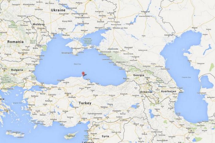 На снимке показано местоположение церкви. Фото: Google Maps