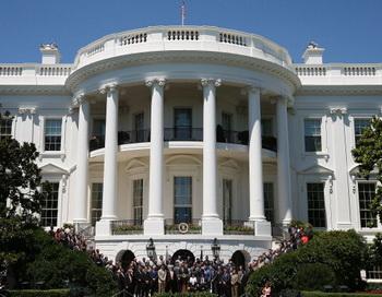 Солнечные батареи будут снабжать энергией Белый дом. Фото: Mark Wilson/Getty Images