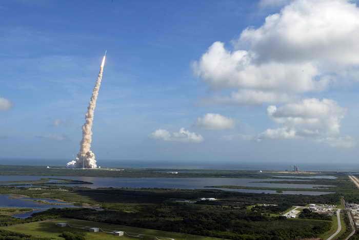К Марсу запустили американскую ракету-носитель с зондом на борту. Фото: Joe Raedle/Getty Images
