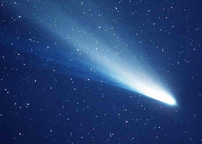 Комета Галлея. Фото: NASA