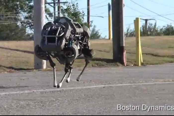 WildCat в движении. Фото: Boston Dynamics