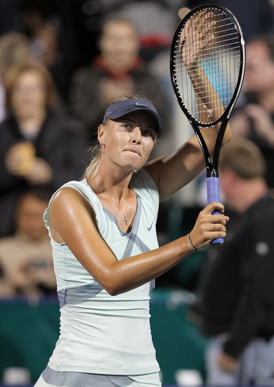 Мария Шарапова в Стэнфорде вышла в финал. Фоторепортаж. Фото: Jed JACOBSOHN/Getty Images