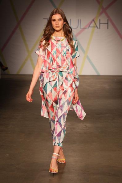 Летние платья от Talulah на  Mercedes-Benz Fashion Week весна-лето 2012/13 в Австралии. Часть 1. Фоторепортаж. Фото: Matt King/Getty Images
