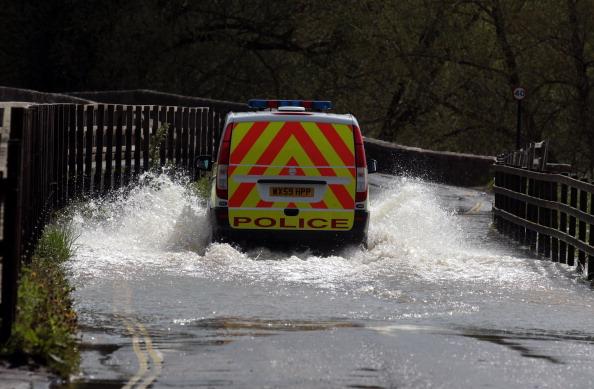 Наводнение в английском графстве Уилтшир. Фоторепортаж. Фото: Matt Cardy/Getty Images