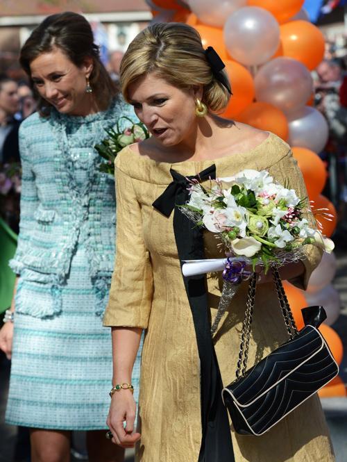 День королевы в Нидерландах. Принцессы Нидерландов Максима (Maxima) и Маргрэт (Margriet). Фоторепортаж. Фото: Jasper Juinen/Getty Images