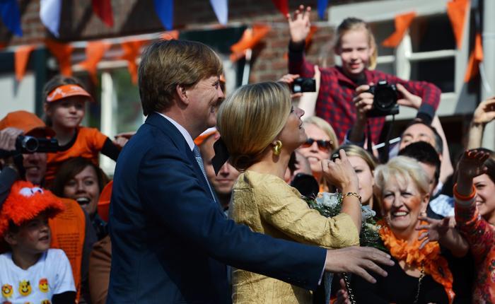 День королевы в Нидерландах. Принцесса Нидерландов Максима (Maxima) и принц Уильям-Александр  (Willem-Alexander). Фоторепортаж. Фото: Jasper Juinen/Getty Images