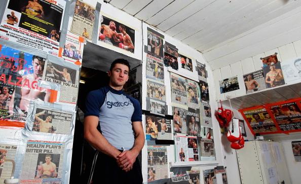 Фоторепортаж с тренировки боксера Натана Клеверли, Фото: Dean Mouhtaropoulos/Getty Images