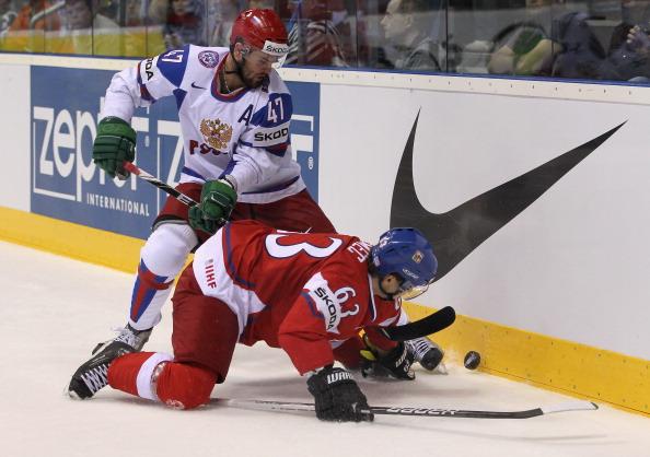 Сборная России проиграла Чехии со счетом 3:2. Фоторепортаж с матча. Фото: Martin Rose/Bongarts/Getty Images