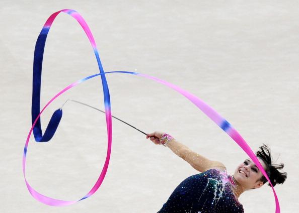 Выступления гимнасток на Чемпионате Европы. Фоторепортаж из Минска. Фото: VIKTOR DRACHEV/AFP/Getty Images