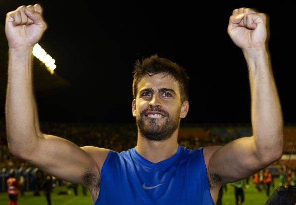 «Барселона»  в 21-й  раз становится чемпионом Испании по футболу. Фоторепортаж с матча «Барселона» - «Леванте».  Фото: Manuel Queimadelos Alonso/Getty Images