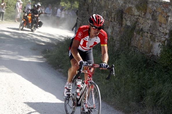Велогонщики «Джиро дИталия» прошли пятый этап. Фоторепортаж с трассы. Фото:  ROBERTO BETTINI/AFP/Getty Images