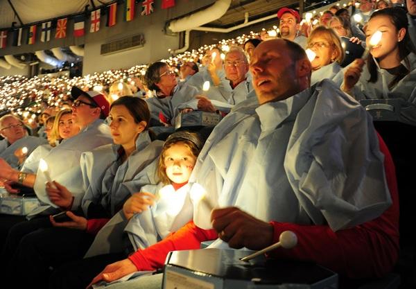 В Ванкувере XXI зимняя Олимпиада объявлена открытой. Фото: CRIS BOURONCLE/AFP/Getty Images