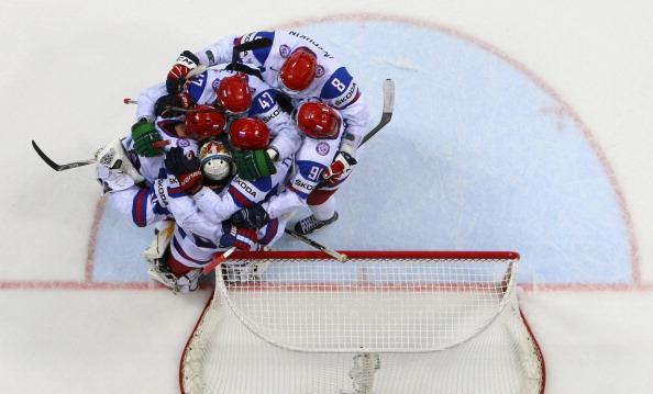 Сборная России выиграла у сборной  Канады со счетом 2:1. Фоторепортаж с матча.  Фото:  Martin Rose/Bongarts/Getty Images