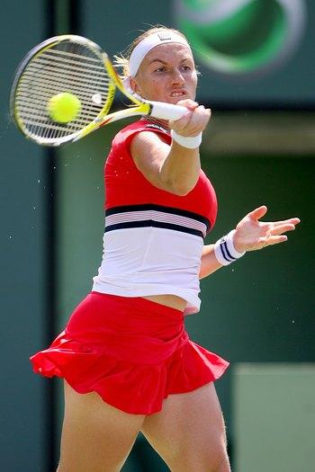 Лучшей спортсменкой России по итогам 2009 года названа теннисистка Светлана Кузнецова. Фото: Matthew Stockman/Getty Images