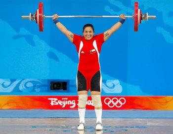 Чилийская спортсменка родила ребенка прямо во время тренировки. Фото:  Cameron Spencer/Getty Images
