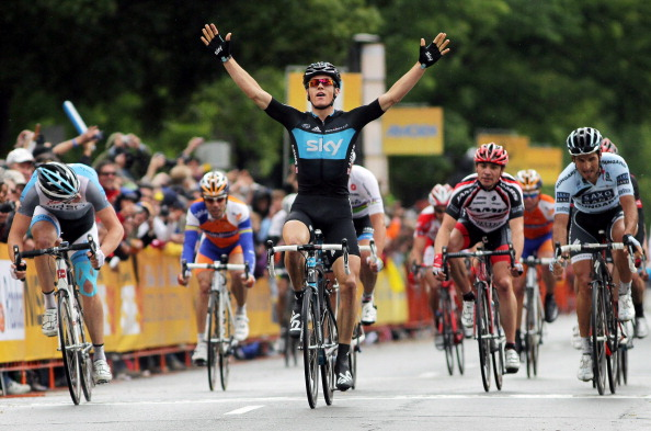 Бен Свифт выиграл второй этап велогонки Amgen тур Калифорнии. Фоторепортаж с трассы.  Фото:  Jeff Gross/Doug Pensinger/Getty Images