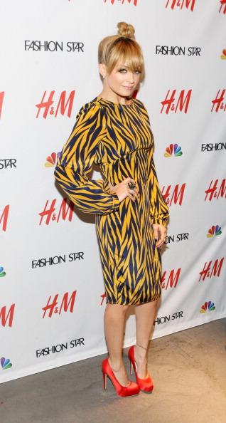 Звёзды моды в программе NBC Fashion Star. Николь Ричи (Nicole Richie). Фоторепортаж. Фото: Bennett Raglin/Getty Images