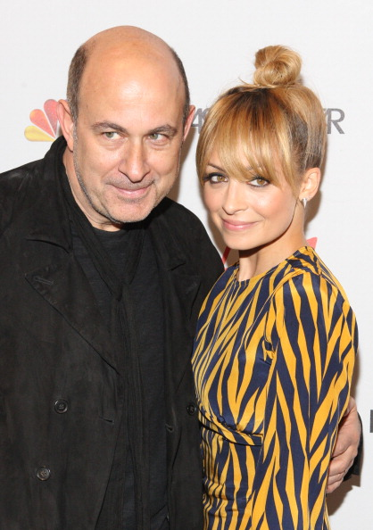 Звёзды моды в программе NBC Fashion Star. Николь Ричи (Nicole Richie) и Джон Ваватос (John Varvatos). Фоторепортаж. Фото: Bennett Raglin/Getty Images
