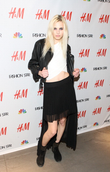 Звёзды моды в программе NBC Fashion Star. Andrej Pejic. Фоторепортаж. Фото: Bennett Raglin/Getty Images