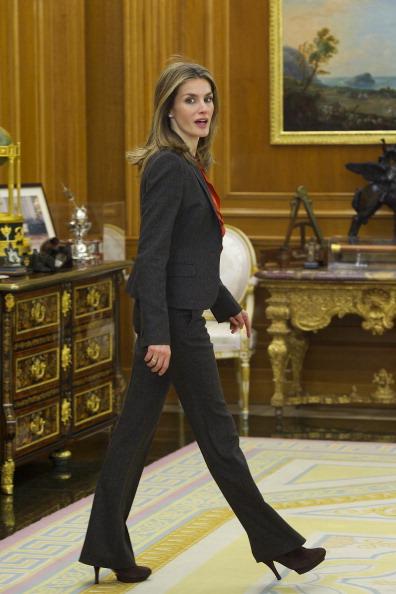 Принцесса Испании Летиция во дворце Ла Сарсуэла. Фоторепортаж. Фото: Carlos Alvarez/Getty Images