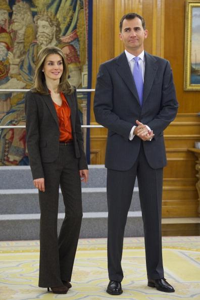 Принц и принцесса Испании Фелипе и Летиция во дворце Ла Сарсуэла. Фоторепортаж. Фото: Carlos Alvarez/Getty Images