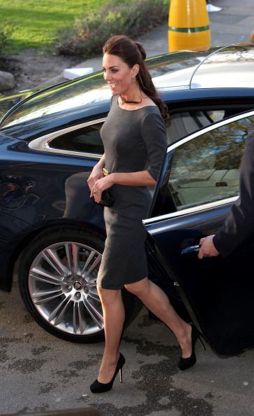 Герцогиня  Кембриджская посетила  церемонию открытия военного музея в Лондоне. Фоторепортаж. Фото: Tim Whitby/Getty Images