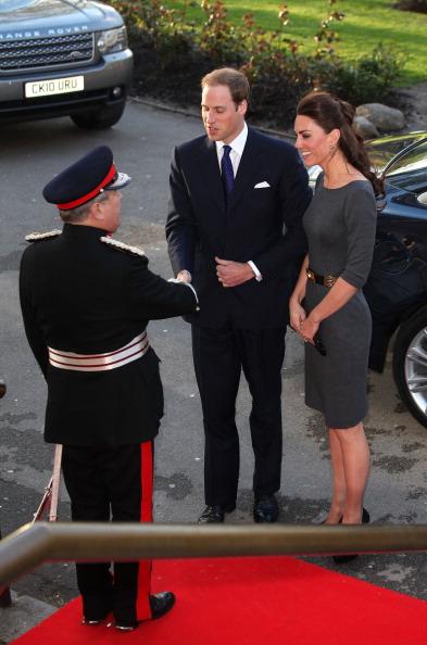 Герцог и герцогиня  Кембриджские посетили  церемонию открытия военного музея в Лондоне. Фоторепортаж. Фото: Tim Whitby/Getty Images