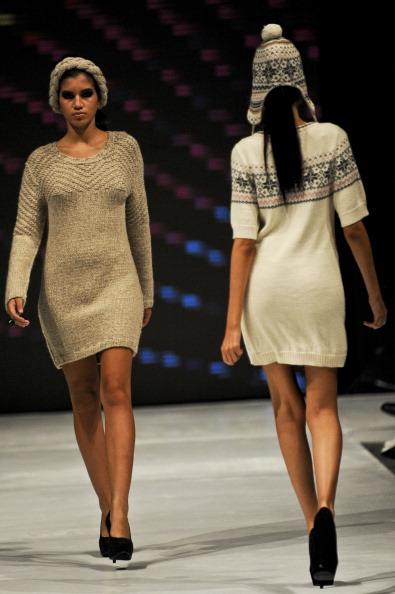 Перуанская мода на Moda Fashion Week в Лиме. Фоторепортаж. Фото: ERNESTO BENAVIDES/AFP/GettyImages