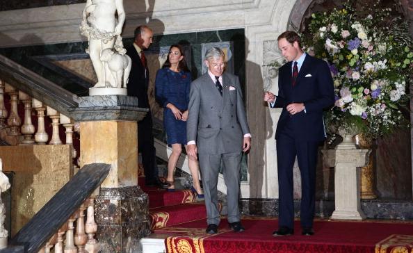 Герцог и герцогиня  Кембриджские посетили  прием по случаю 100-летия  станции Скотта-Амундсена. Фоторепортаж. Фото: Vic Vicary - WPA Pool/Getty Images