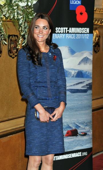 Леди Кэтрин, герцогиня  Кембриджская на приеме по случаю 100-летия антарктической  станции Скотта-Амундсена. Фоторепортаж. Фото: Vic Vicary - WPA Pool/Getty Images