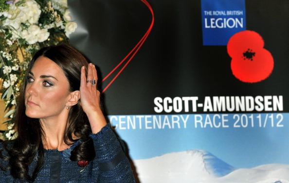 Леди Кэтрин, герцогиня  Кембриджская, на приеме по случаю 100-летия антарктической  станции Скотта-Амундсена. Фоторепортаж. Фото: Vic Vicary - WPA Pool/Getty Images