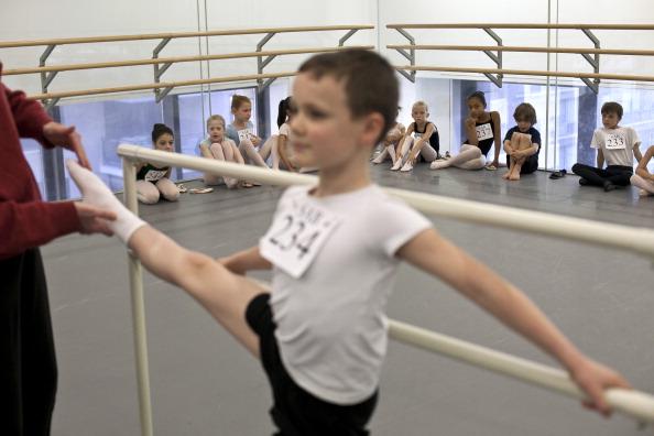 Балетная школа New York City Ballet набирает танцоров. Фоторепортаж. Фото: Allison Joyce/Getty Images