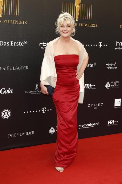 Звёзды кино и музыки на красной дорожке Lola —  German Film Award 2012. Saskia Veste. Часть 1. Фоторепортаж. Фото: Andreas Rentz/Getty Images