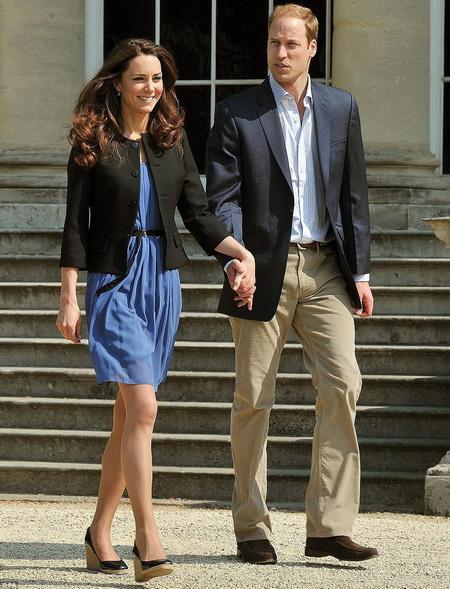 Принц Уильям и леди Кэтрин, герцог и герцогиня  Кембриджские  после свадьбы. Фоторепортаж. Фото: Getty Images