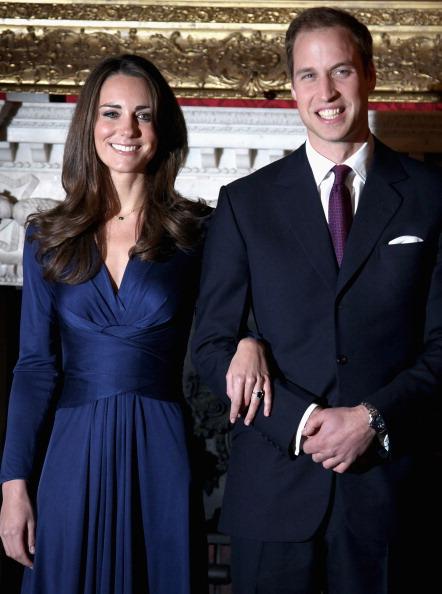Принц Уильям и леди Кэтрин,  герцог и герцогиня  Кембриджские до свадьбы. Фоторепортаж. Фото: Getty Images