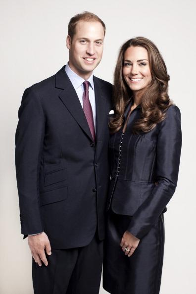 Принц Уильям и леди Кэтрин, герцог и герцогиня  Кембриджские дл свадьбы. Фоторепортаж. Фото: Getty Images