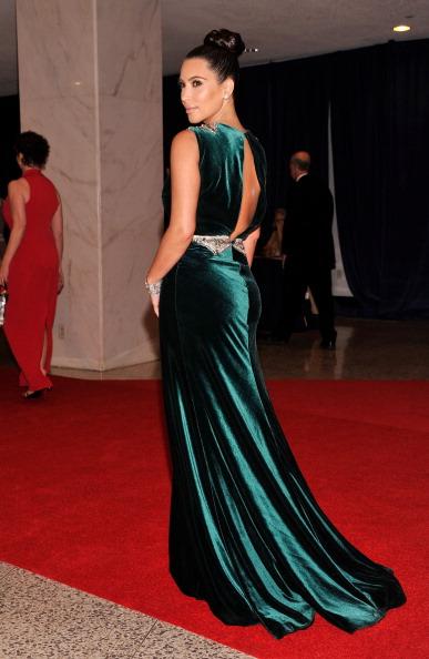 Знаменитости на ужине корреспондентов Белого дома. Ким Кардашьян (Kim Kardashian). Фоторепортаж. Фото: Getty Images