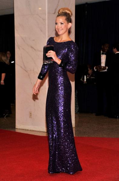 Знаменитости на ужине корреспондентов Белого дома. Kate Hudson. Фоторепортаж. Фото: Getty Images