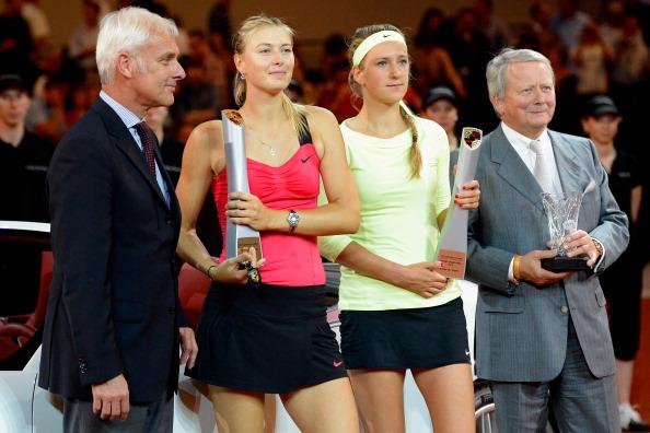 Мария Шарапова выиграла титул турнира WTA,  100 тысяч долларов и автомобиль. Фоторепортаж.  Фото: Dennis Grombkowski/Bongarts/Getty Images