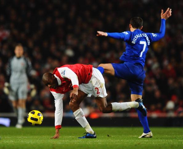 Андрей Аршавин  забил победный гол  в матче  «Арсенал» - «Эвертон». Фото: Mike Hewitt/Getty Images